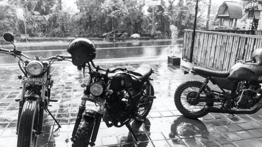Les risques pour la sécurité liés à la conduite d'une moto